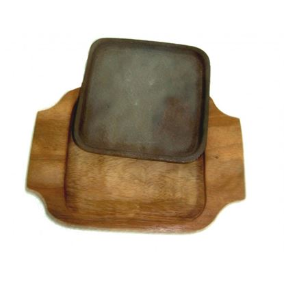 "Picture of WOOD SIZZLER SQ. 7""X7"""