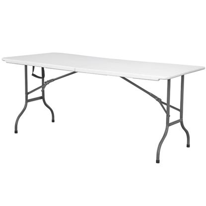 "Picture of WP TABLE RECTANGLE 6FTX20"" (DISH)"