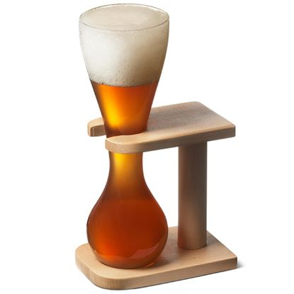 Picture of DN YARD ALE GLASS W/STAND 8.5X25CM 450ML