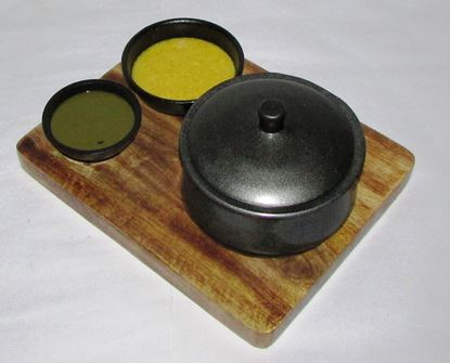 Picture of CK WOOD BASE HANDI DIP BOWLS