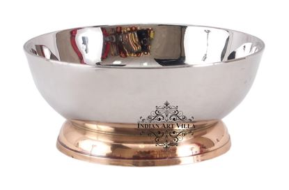 Picture of DESTELLER TWO TONE DESSERT BOWL MIRROR