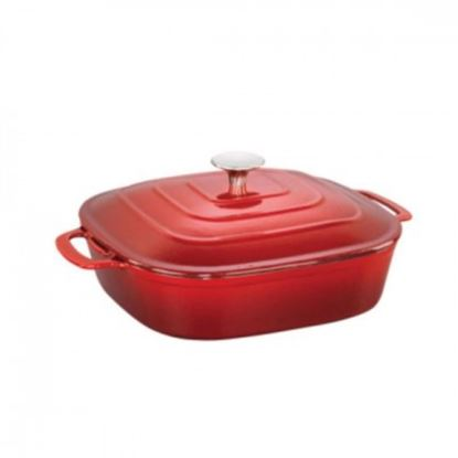 Picture of ALDA CAST IRON CASSROLE SQ 28CM