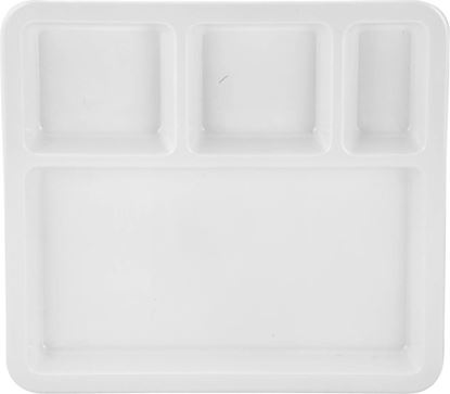 Picture of DINEWELL PARTITION PLATE (4P) MEAL 3112