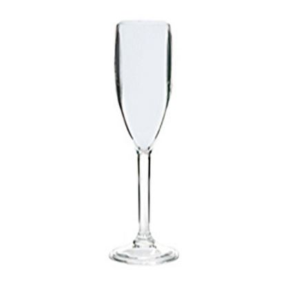 Picture of MUSKAN CHAMPANGE FLUTE GLASS (CLEAR)