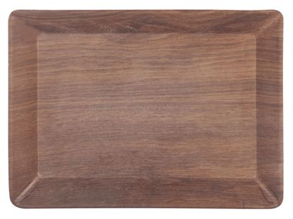 Picture of DINEWELL TRAY BALSA LARGE 1048 (WOOD)