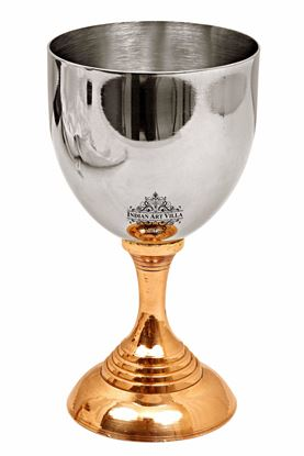 Picture of DESTELLER TWO TONE GOBLET GLASS