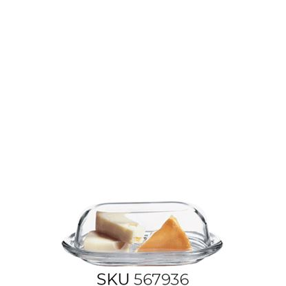 Picture of PASABAHCE BASIC BUTTER DISH (98402)
