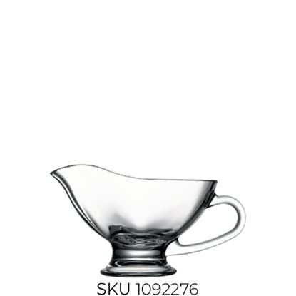 Picture of PASABAHCE BASIC SAUCE BOAT 25CL (55022)