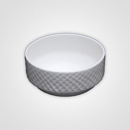 Picture of BONE-CHINA DIAMOND SOUP BOWL