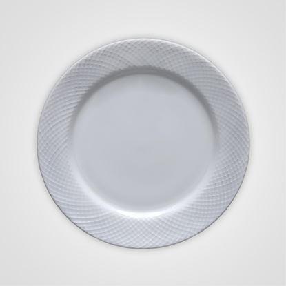 "Picture of BONE-CHINA DIAMOND GEORGIAN PLATE 10.5"""