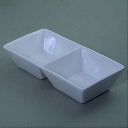 Picture of ARIANE JULIET BOWL TWO COMPART 13X6CM