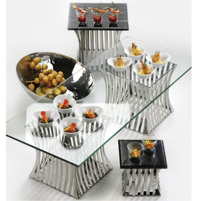 Picture of KMW BUFFET STAND SQUARE STRIP TYPE 3PC