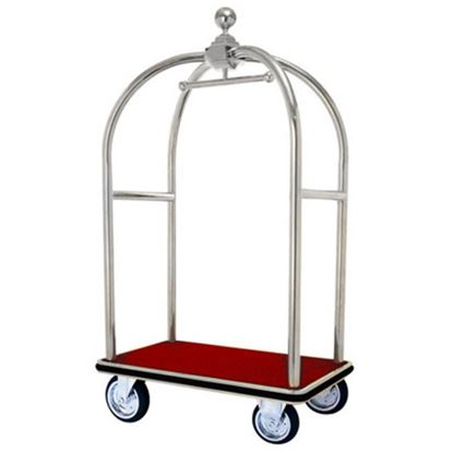 Picture of HK LUGGAGE TROLLEY SS (CART TYPE)