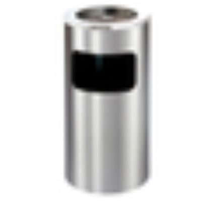 Picture of STEELONE ASH TRASH BIN 12X28