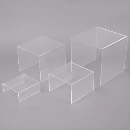 Picture of ACRYLIC RISER SET (3PCS)WHITE