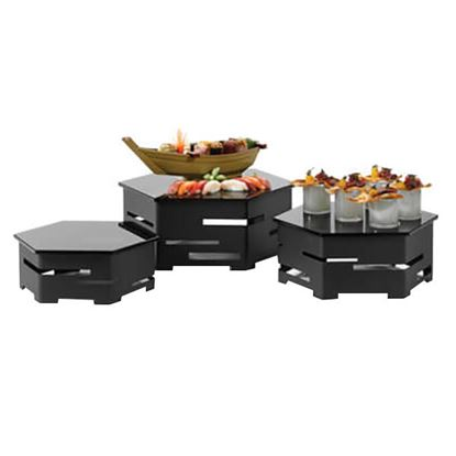 Picture of LP RISER SET HEXA (3PC) BLACK