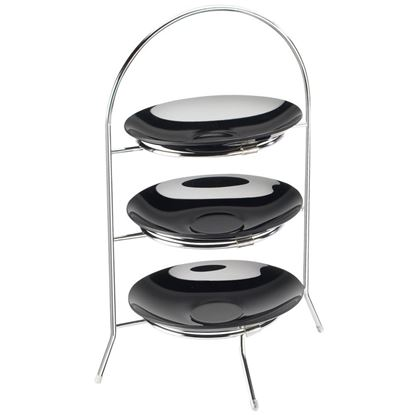 Picture of IG 3 TIER CAKE STAND MINI 24X12.7X32CM