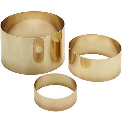 Picture of MEC RISER ROUND BIG R GOLD