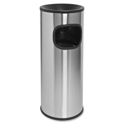 Picture of STEELONE ASH TRASH BIN 12X24
