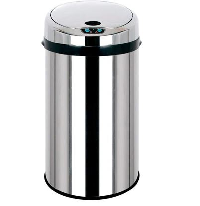 Picture of STEELONE ASH TRASH BIN 14X24