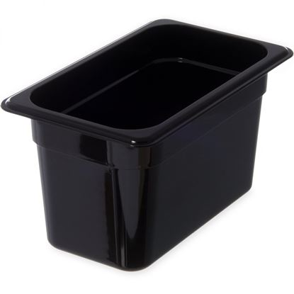 Picture of CAMBRO FOOD PAN 1/4 150MM (BLACK)