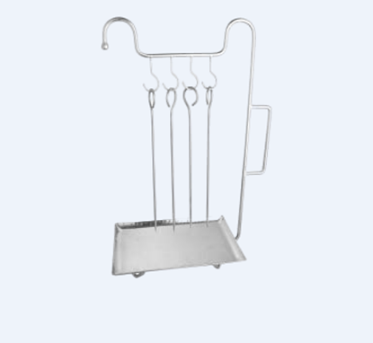 Picture of DESTELLER SNACK WIRE STAND SS BASE