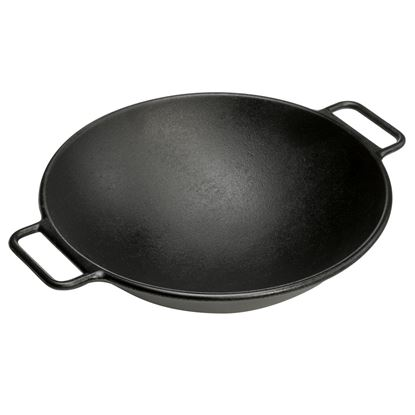 Picture of SKI CAST IRON CHINESE WOK