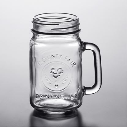 Picture of IMP DELI MASON JAR 450ML W/STRAW GIFT PACK