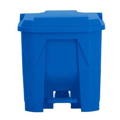 Picture of CHAFFEX PEDAL DUSTBIN PLASTIC 30L (BLUE)