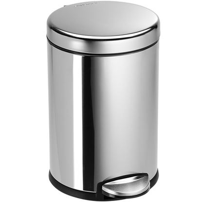 Picture of STEELONE PEDAL BIN 11 LTR