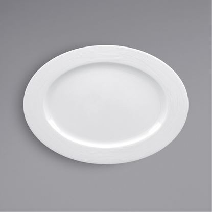 Picture of ARIANE ECLIPSE OVAL PLATE 26CM