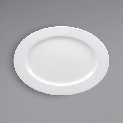 Picture of ARIANE ECLIPSE OVAL PLATE 22CM X 15.4 CM