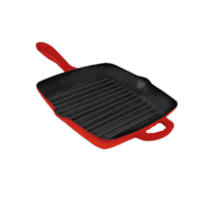 Picture of ALDA CAST IRON GRILL PAN 26CM