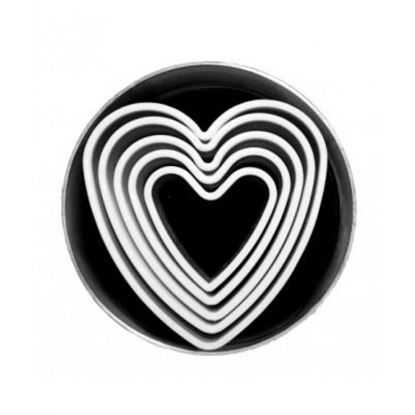 Picture of CHAFFEX COOKIE CUTTER 5P HEART