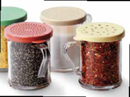 Picture of CAMBRO SHAKER SALT & PAPER 96SKRD