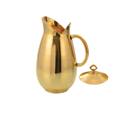 Picture of LACOPPERA BRASS JUG DOLPHIN W/LID