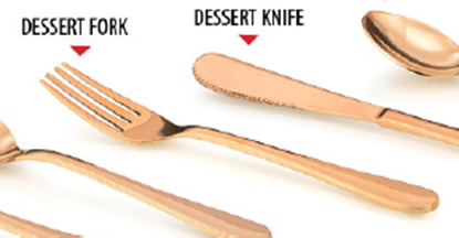Picture of LACOPPERA BRZ DESSERT (A.P) FORK