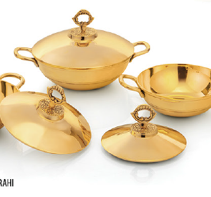 Picture of LACOPPERA BRASS KARAHI NO1