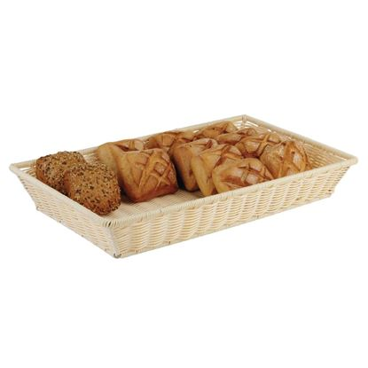 Picture of CHAFFEX POLY BASKET RECT 1/1 (IVORY)