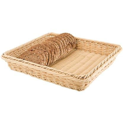 Picture of CHAFFEX POLY BASKET RECT 14X18 (IVORY)