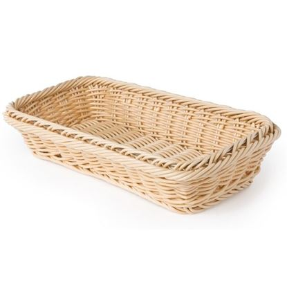 Picture of CHAFFEX POLY BASKET RECT 10X14 (IVORY)