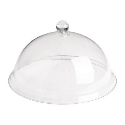 """Picture of ACRYLIC CAKE COVER DOME 9"""""""