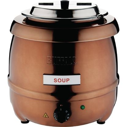Picture of CHAFFEX SOUP TUREEN METAL BODY (ROSE GOLD)