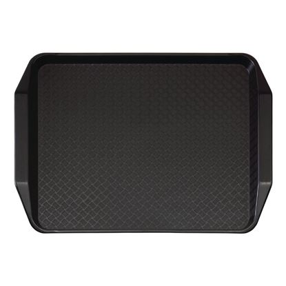Picture of CAMBRO TRAY FAST FOOD W/H 11X13 (BLACK)