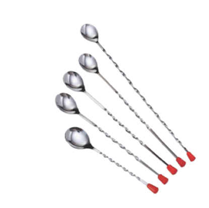 """Picture of KMW BAR SPOON 10"""" RED KNOB"""