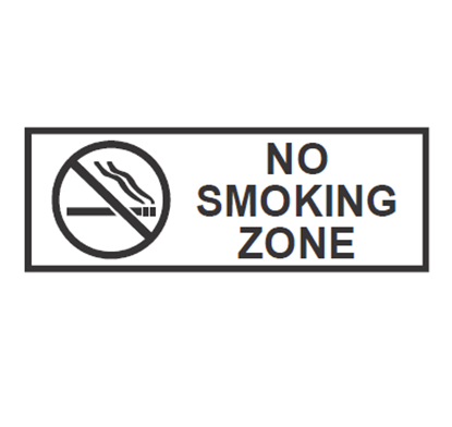 """Picture of CHAFFEX SNG 5""""X12"""" (NO SMOKING)"""