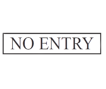 """Picture of CHAFFEX SNG 3""""X12"""" (NO ENTRY)"""