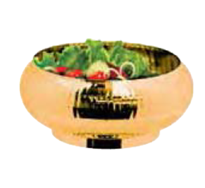 Picture of VS6 SALAD BOWL GOLD 304
