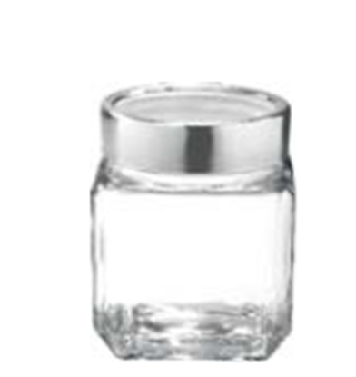 Picture of TR CUBE JAR 580ML