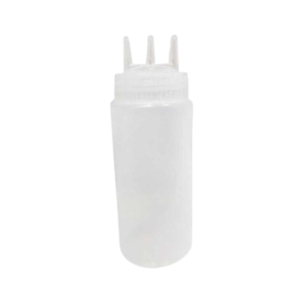 Picture of V4 SAUCE BOTTLE (3WAY NOZZLE) 36OZ CLEAR